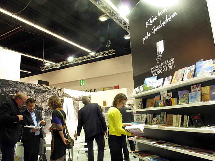 Frankfurt. Fabulous Iceland - the Book Fair in Frankfurt. - Impressions I. (12 October 2011)