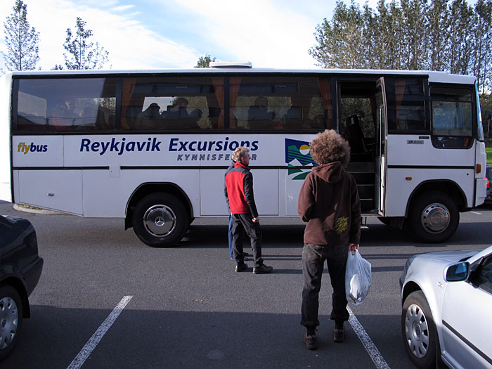 Reykjavík. Haustferð - autumn trip. I. - In this bus we started our day trip ... (8 September 2012)