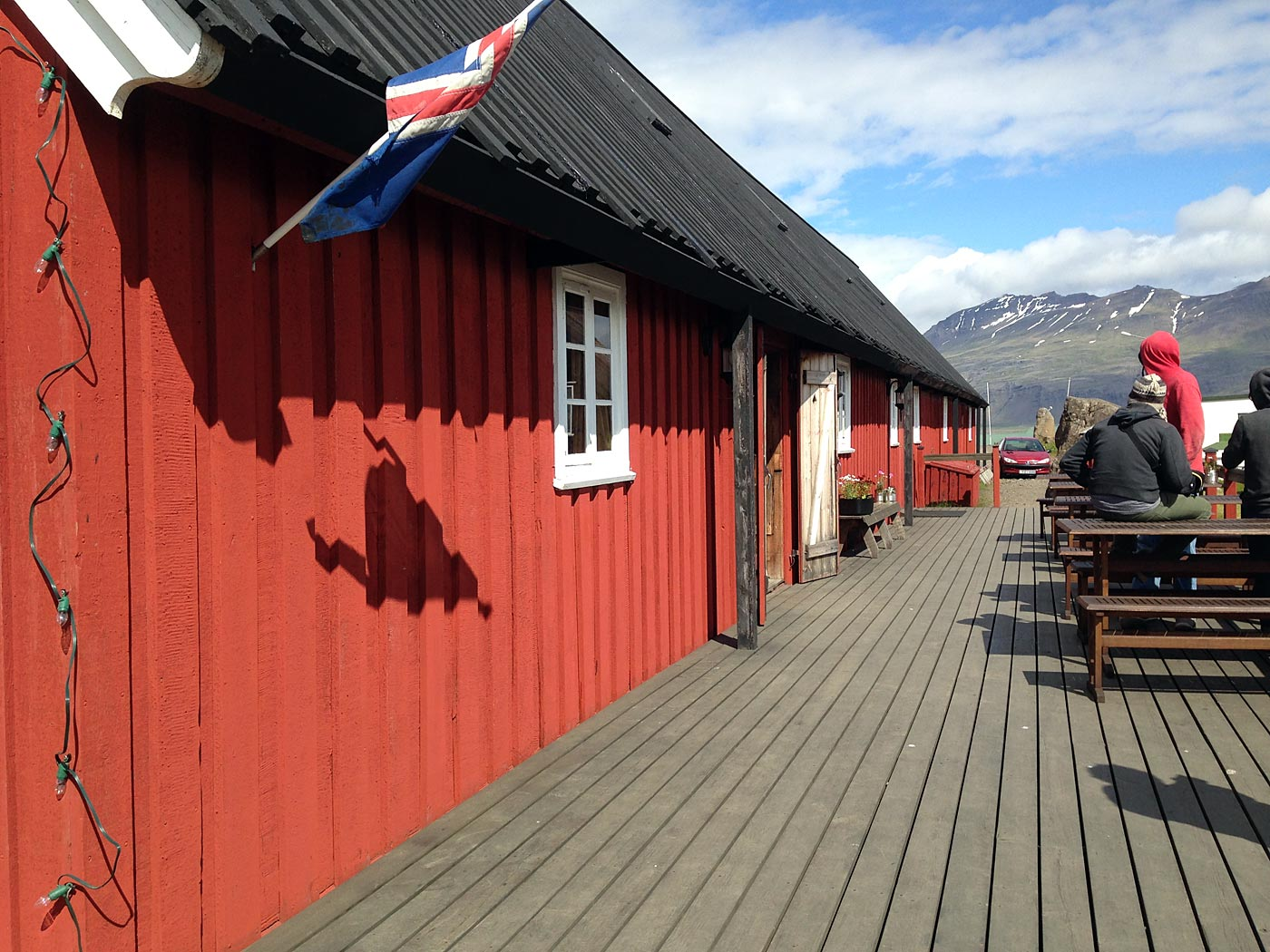 Around Iceland. Day II. Djúpivogur - Eskifjöður. - Langabúð in Djúpivogur - a building with a long history. More about it <a href='http://www.rikardssafn.is/web/?&OZON=Z3JvdXA9OTUx' target='_blank' class='linksnormal'>here</a> (icelandic only). (3 July 2013)