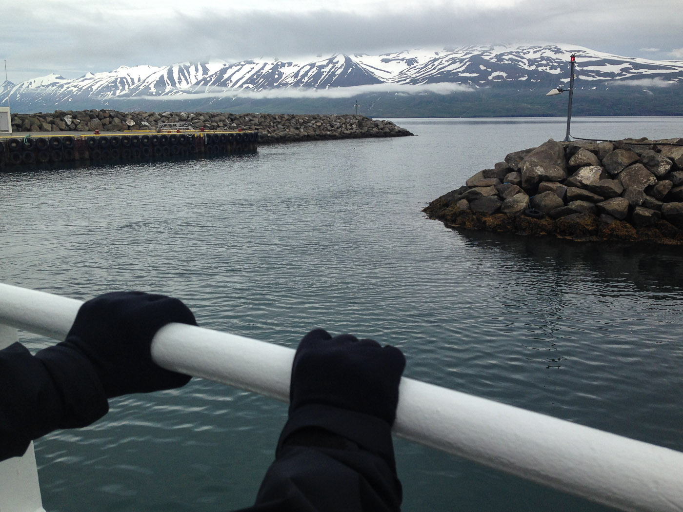 Northern Iceland - Hrísey island. On vacation. - <a href='http://www.hrisey.net/en/' target='_blank' class='linksnormal'>Hrísey</a>. (22 July 2014)